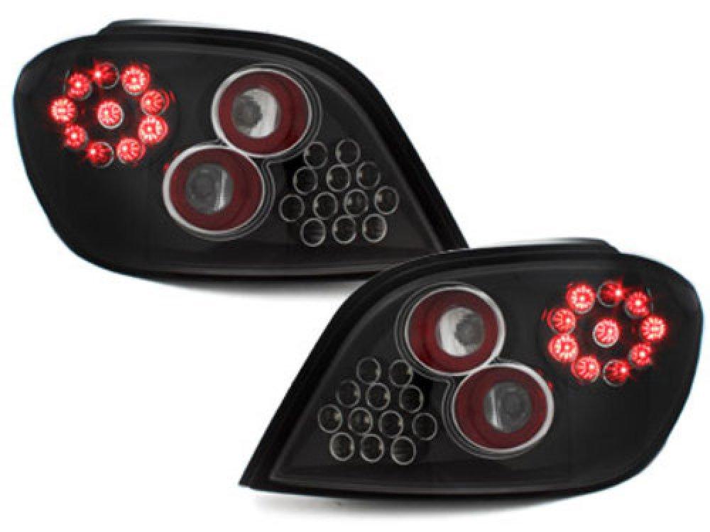 Задние фонари LED Black на Peugeot 307