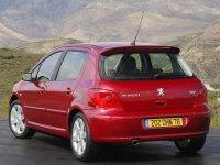 На Peugeot 307 - задняя альтернативная оптика, фонари