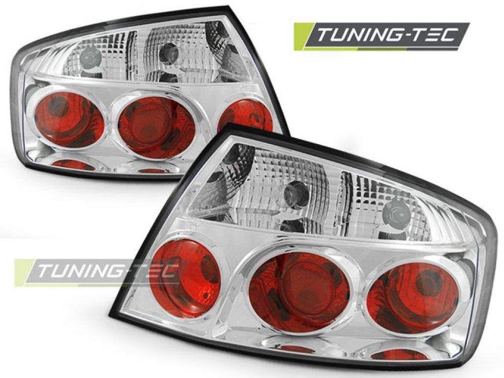 Задние фонари Chrome от Tuning-Tec на Peugeot 407 Limousine