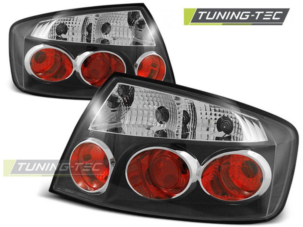 Задние фонари Black от Tuning-Tec на Peugeot 407 Limousine