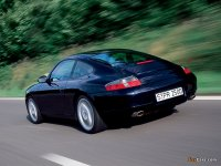 На Porsche 911 / 996 - задняя альтернативная оптика, фонари