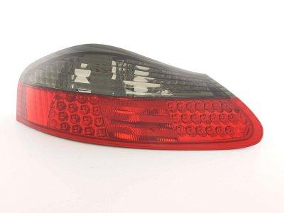 Задние фонари LED Red Smoke от FK на Porsche Boxster 986