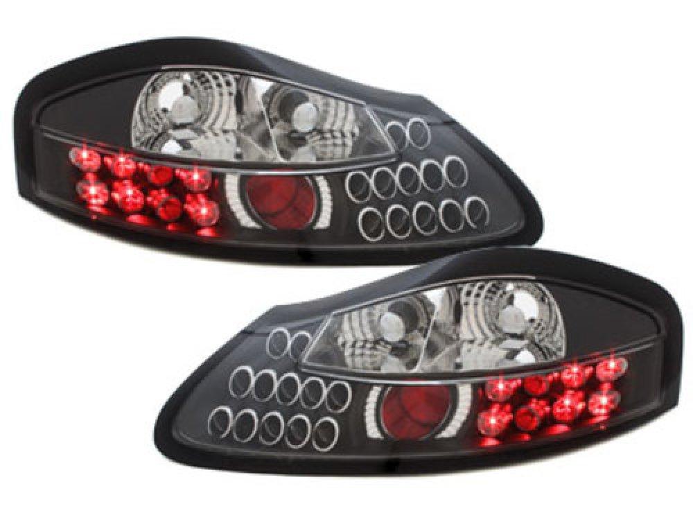 Задние фонари LED Black на Porsche Boxster 986