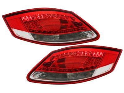 Задние фонари LED Red Crystal на Porsche Boxster 987 / Cayman