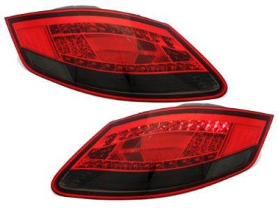 Задние фонари LED Red Smoke на Porsche Boxster 987 / Cayman