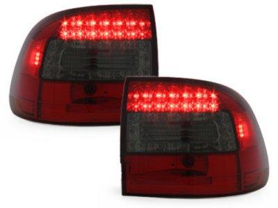 Задние фонари LED Red Smoke Var2 на Porsche Cayenne I