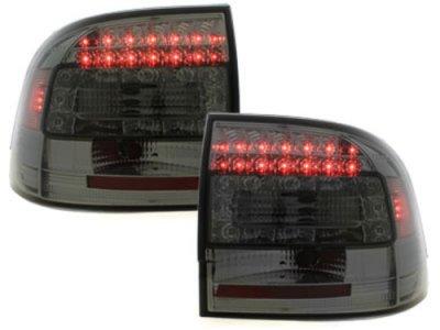 Задние фонари LED Smoke Var2 на Porsche Cayenne I