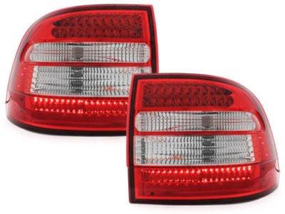 Задние фонари LED Red Crystal на Porsche Cayenne I