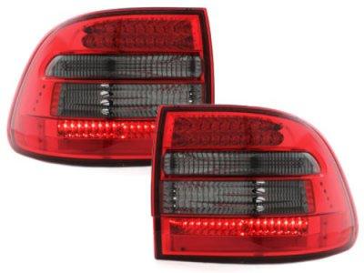 Задние фонари LED Red Smoke на Porsche Cayenne I