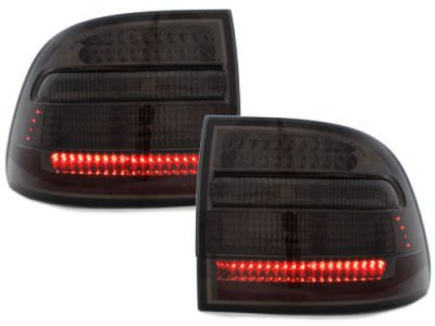 Задние фонари LED Smoke на Porsche Cayenne I