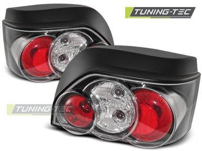 Задние фонари Black от Tuning-Tec на Renault Clio I 3D / 5D