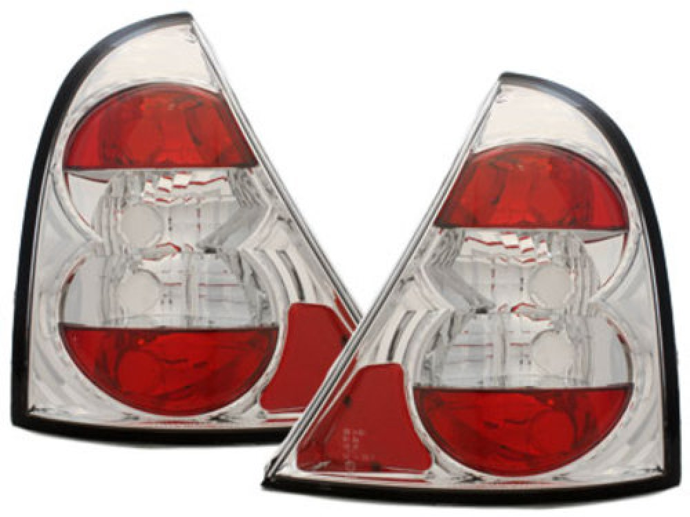 Задние фонари Crystal на Renault Clio II