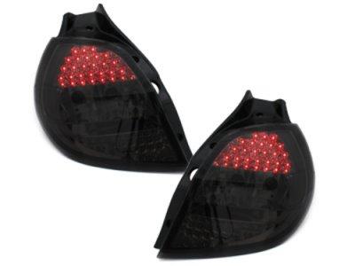 Задние фонари LED Smoke от Dectane на Renault Clio III