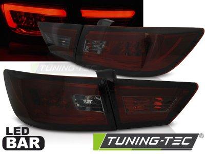 Задние фонари LED Red Smoke от Tuning-Tec на Renault Clio IV