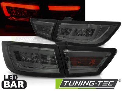 Задние фонари LED Smoke от Tuning-Tec на Renault Clio IV