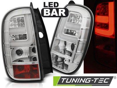 Задние фонари LED Chrome на Renault Duster