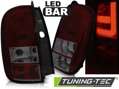 Задние фонари LED Red Smoke на Renault Duster