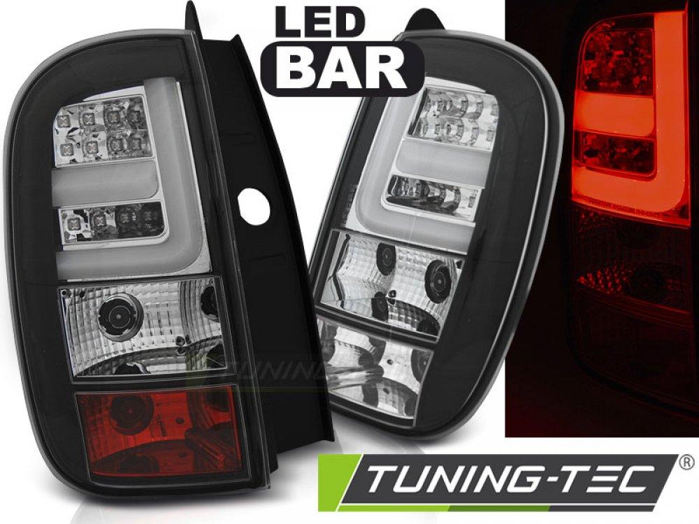 Задние фонари LED Black на Renault Duster