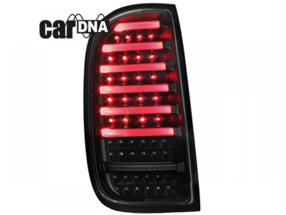Задние фонари CarDNA LED Black на Renault Duster