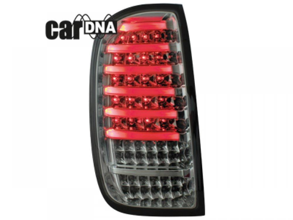 Задние фонари CarDNA LED Smoke на Renault Duster