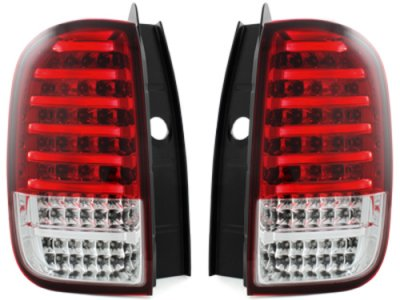 Задние фонари CarDNA LED Red Crystal на Renault Duster