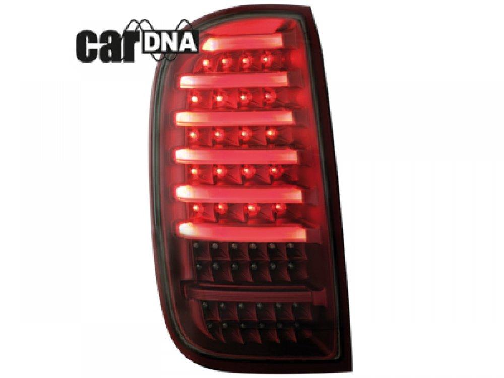 Задние фонари CarDNA LED Red Smoke на Renault Duster