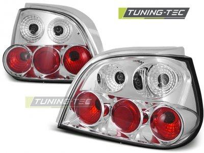 Задние фонари Chrome на Renault Megane I 5D