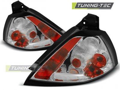 Задние фонари Chrome на Renault Megane II 3 / 5D