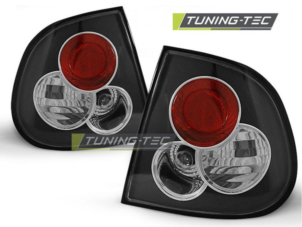 Задние фонари Black от Tuning-Tec на Seat Cordoba I