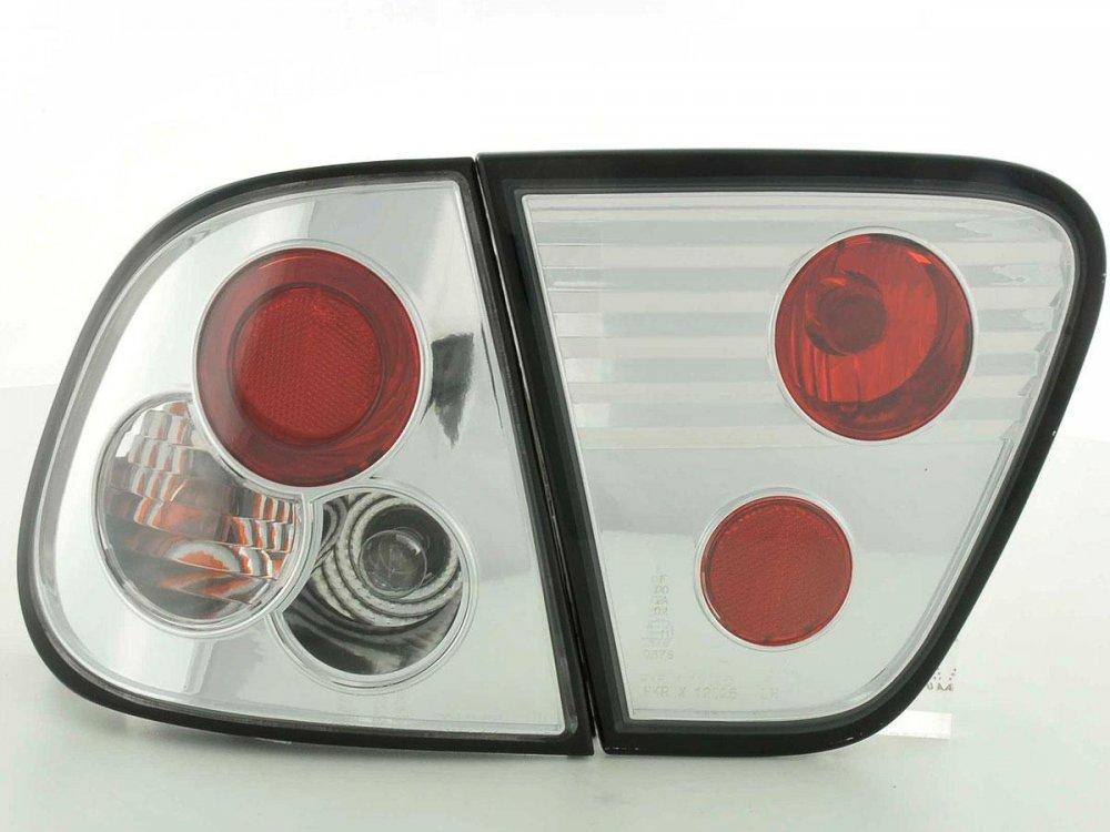 Задние фонари Chrome от FK Automotive на Seat Cordoba I рестайл