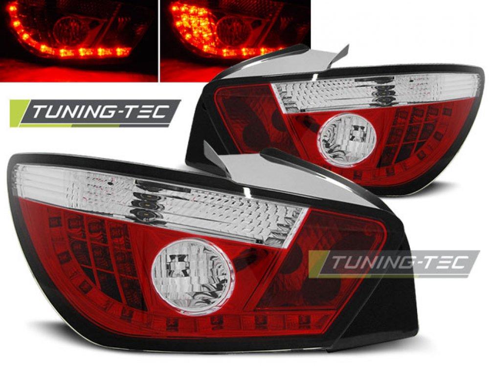 Задние фонари LED Red Crystal от Tuning-Tec на Seat Ibiza 6J 3D