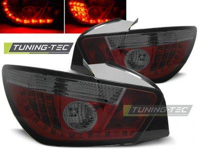Задние фонари LED Red Smoke от Tuning-Tec на Seat Ibiza 6J 3D