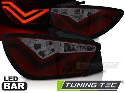 Задние фонари Neon LED Red Smoke на Seat Ibiza 6J