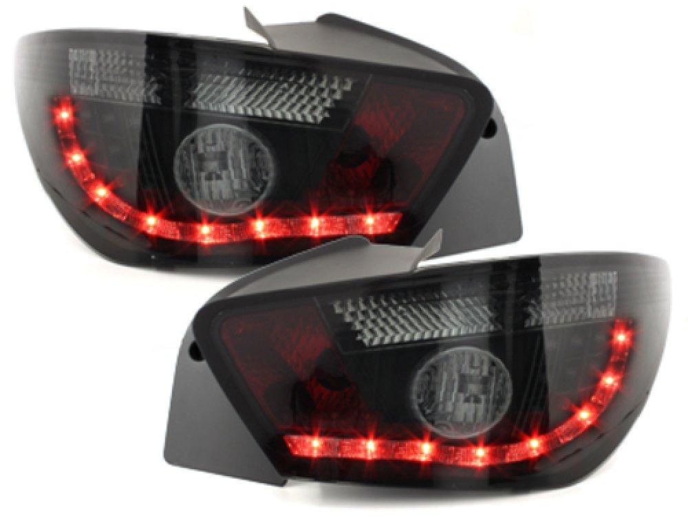 Задние фонари LED Black Smoke на Seat Ibiza 6J