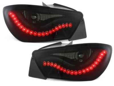 Задние фонари Litec Black Smoke на Seat Ibiza 6J