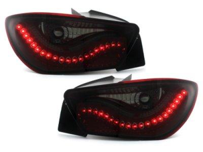 Задние фонари Litec Red Smoke на Seat Ibiza 6J