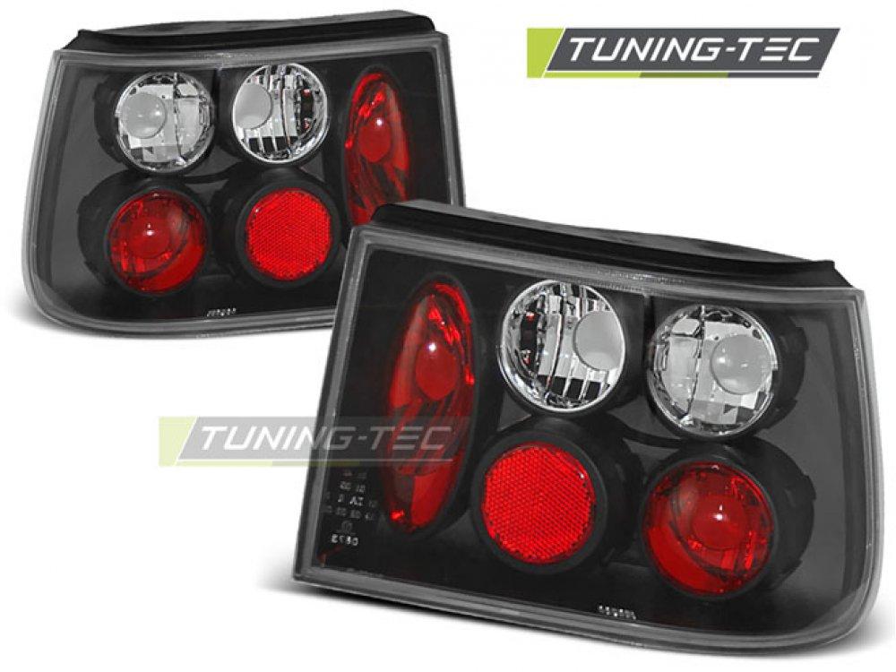 Задние фонари Black от Tuning-Tec на Seat Ibiza 6K