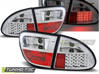 Задние фонари LED Chrome от Tuning-Tec на Seat Leon 1M