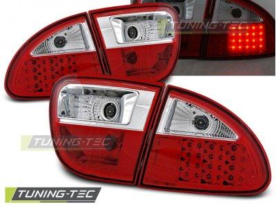 Задние фонари LED Red Crystal от Tuning-Tec на Seat Leon 1M