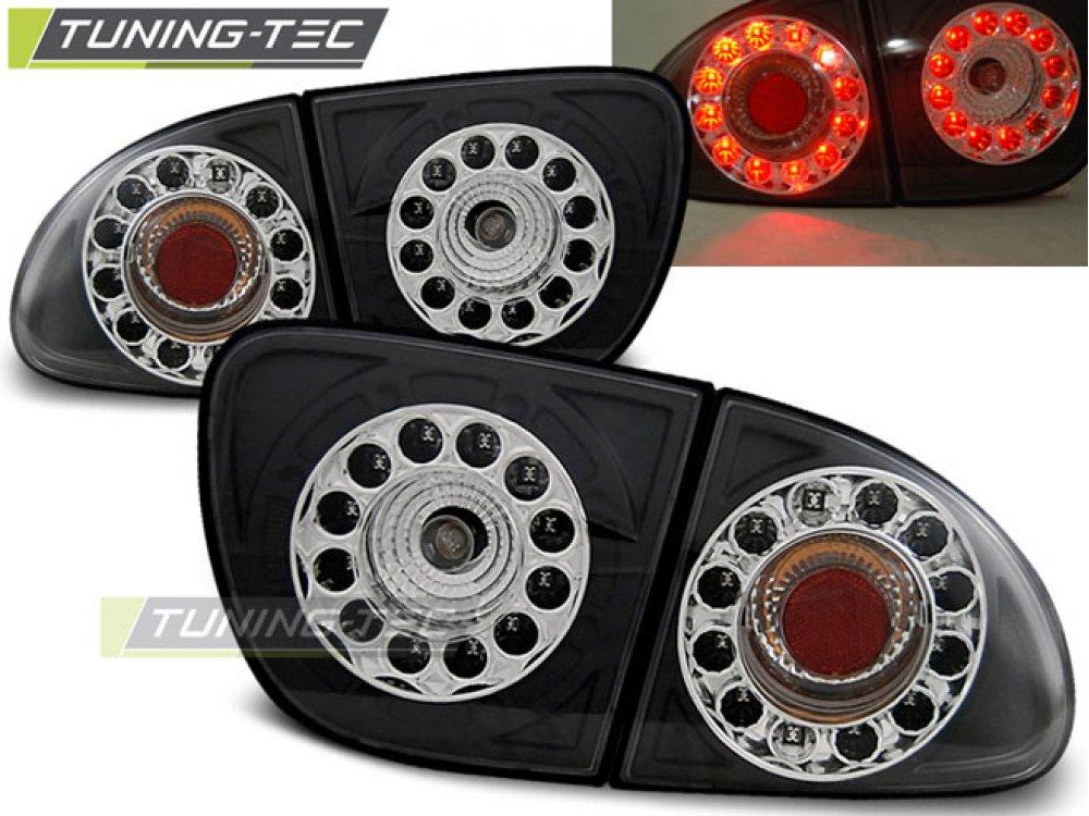 Задние фонари LED Black Var2 от Tuning-Tec на Seat Leon 1M