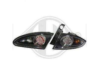 Задние тюнинговые фонари LED Black на Seat Leon 1P