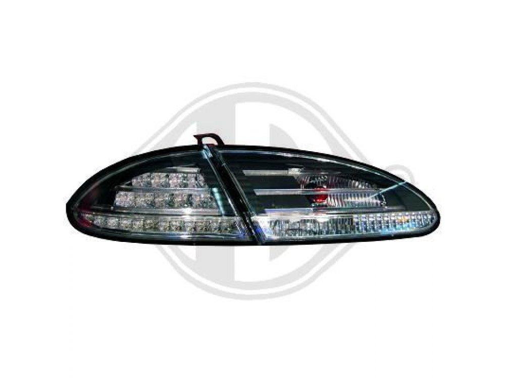 Задние диодные фонари LED Black на Seat Leon 1P