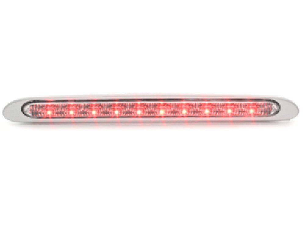 Дополнительный стоп-сигнал LED Clear Glass на Seat Leon 1P