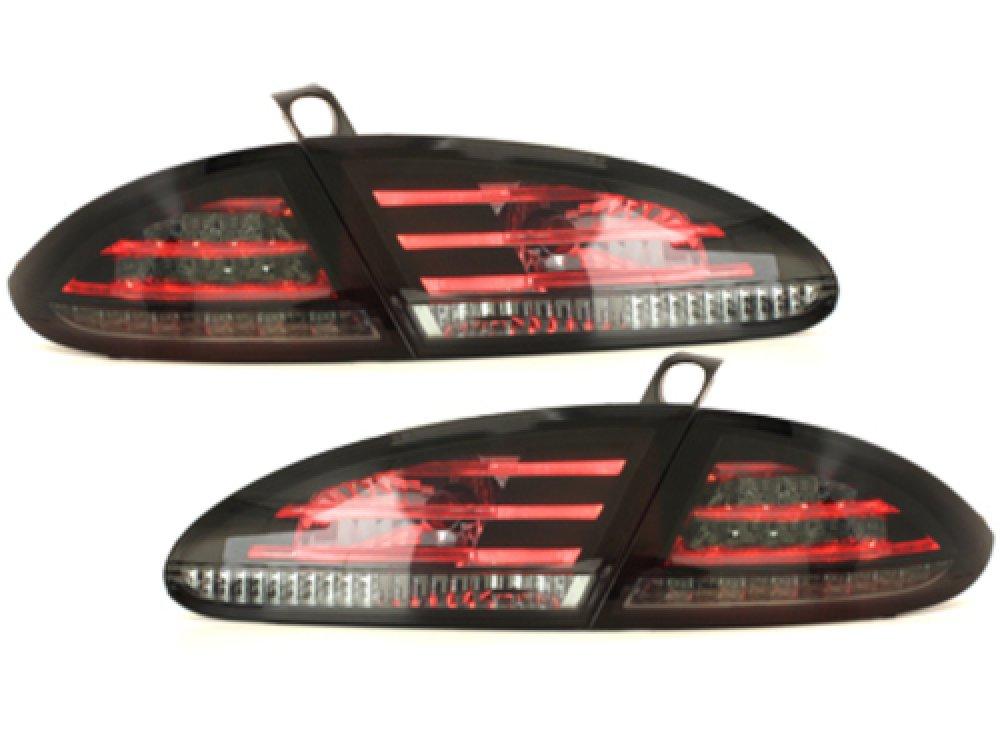 Задние фонари LED Black Smoke на Seat Leon 1P