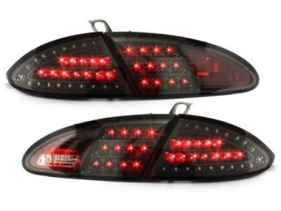 Задние фонари Litec LED Black на Seat Leon 1P