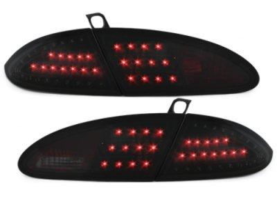 Задние фонари Litec LED Black Smoke на Seat Leon 1P