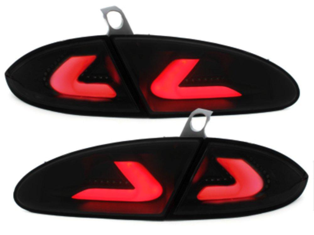 Задние фонари CarDNA Black Smoke на Seat Leon 1P