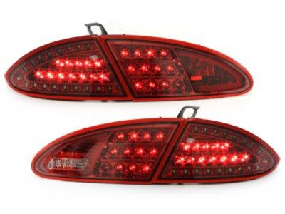 Задние фонари Litec LED Red на Seat Leon 1P