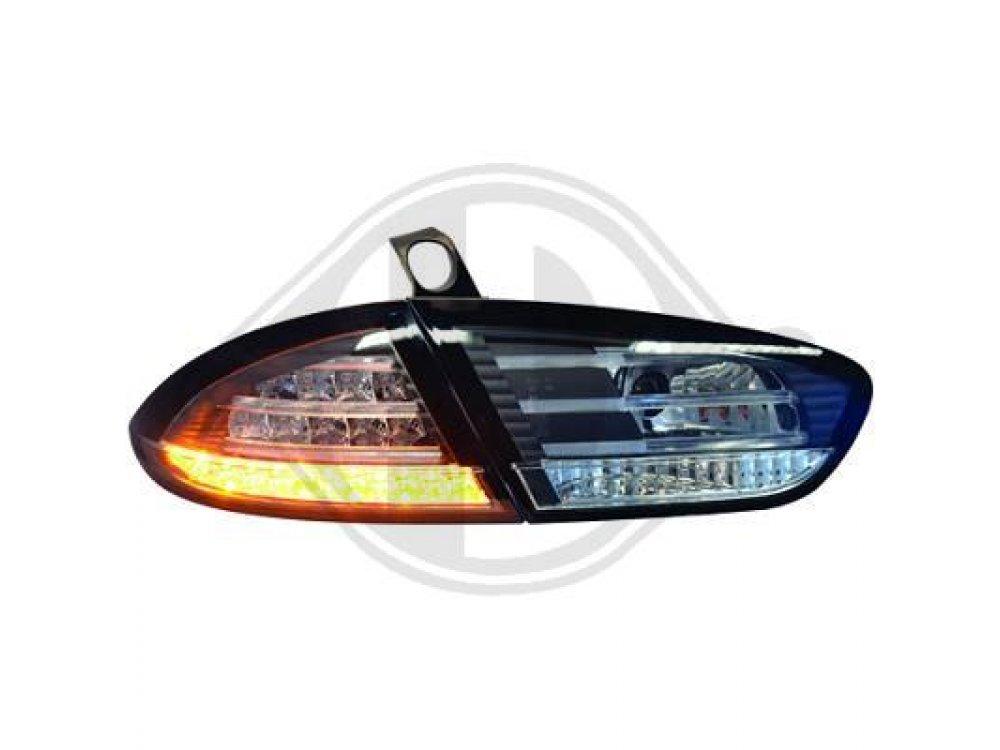 Задние фонари LED Black от HD на Seat Leon 1P1