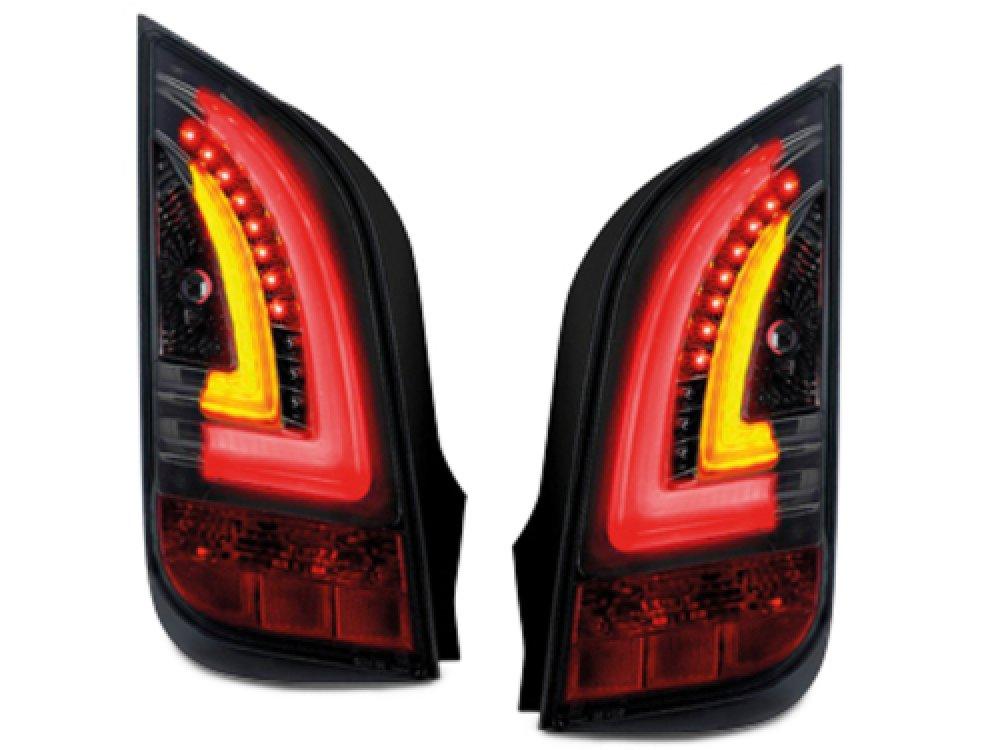 Задние фонари LED Black на Skoda Citigo